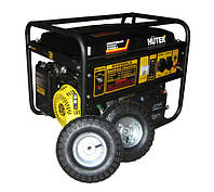 Бензиновый электрогенератор DY6500LX с колёсами и аккумулятором