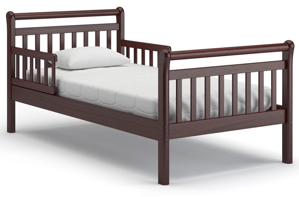 """Кровать из натурального дерева """"Алабама"""" для подростка"""
