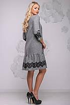 женское платье деми 44-50 ,доставка по Украине, фото 3