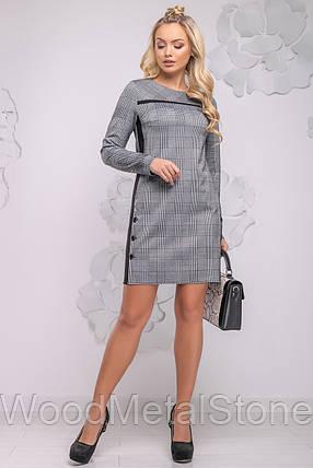Женское платье в клетку  44-50 ,доставка по Украине, фото 2