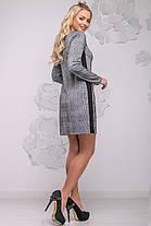 Женское платье в клетку  44-50 ,доставка по Украине, фото 3