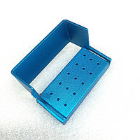 Контейнер для боров B004a, 15 отверстий (синий)