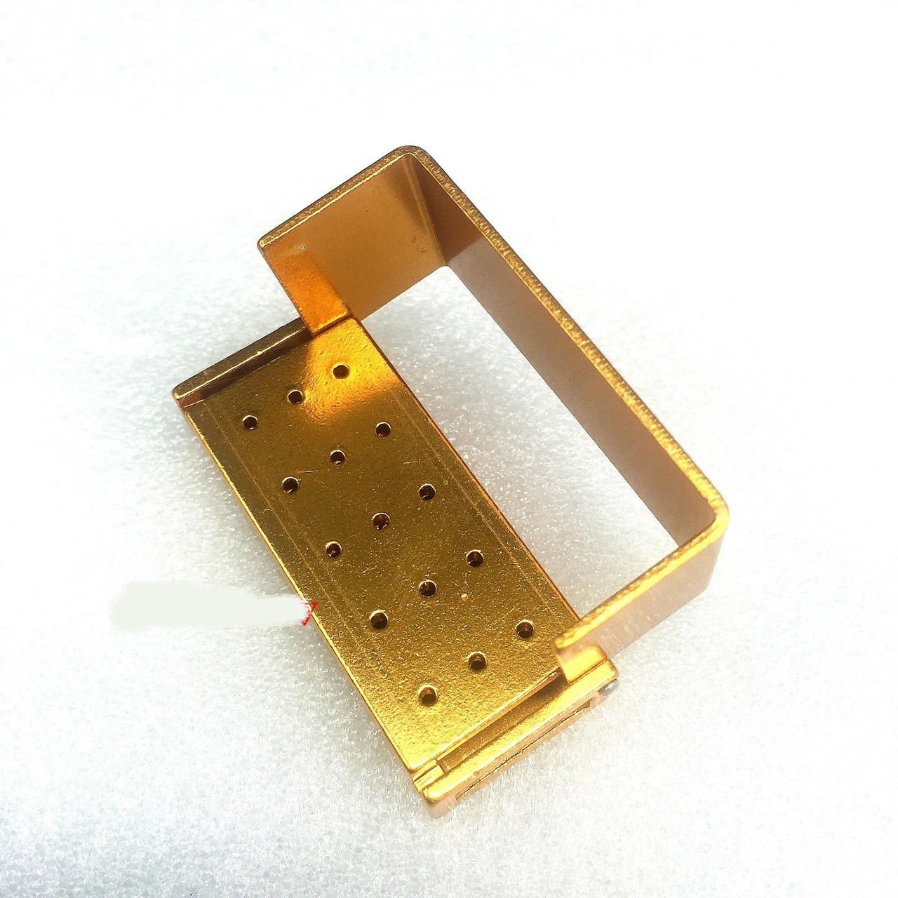 Контейнер для боров B004a, 15 отверстий (желтый)