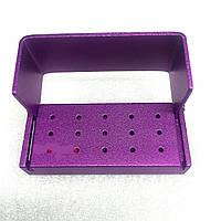 Контейнер для боров B004a, 15 отверстий (пурпурный)