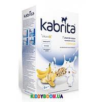 Каша на козьем молочке с бананом Kabrita 7 злаков с 6-ти мес. (180 г) KK40000077