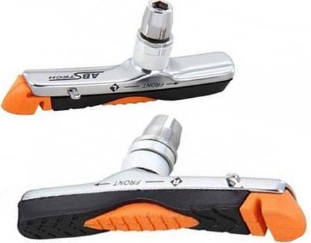Тормозные колодки V-Brake Spencer ABS 01, картриджные, пара (HAM206), фото 2