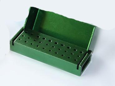 Контейнер для боров B004, 30 отверстий (зеленый)