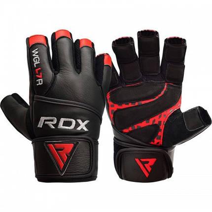Перчатки для зала RDX Membran Pro L, фото 2