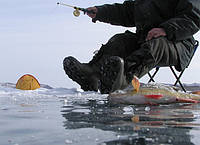 Правила установки на льду палатки для зимней рыбалки