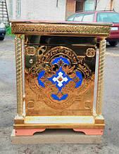 Православный жертвенник с чеканкой на нитрид титане (неразборный)