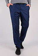 Брюки классические мужские, низ брючин не обработан AG-0002498 Темно-синий