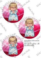 ДАНА-2253 Новогодние игрушки Почти идеальный, схема под бисер