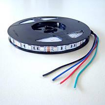 Светодиодная лента B-LED 5050-60 RGB, негерметичная, фото 3