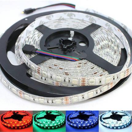 Светодиодная лента B-LED 5050-60 RGB, негерметичная, фото 2