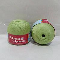 Троицкая Астра 100г/610м 0580 зеленое яблоко