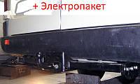 Фаркоп - Volkswagen LT 28-35 Микроавтобус (1995-2006) 1 кол, 2 кол. L=3550/4025 и шаром F, фото 1