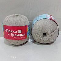 Троицкая Астра 100г/610м 0556 суровый лен