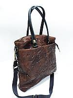 Кожаная сумка винтажная