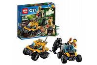 Конструктор Lepin 02064 (аналог Lego City 60159) Миссия «Исследование Джунглей» 404 деталей KK