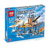 Конструктор серии Lepin 02070 Coast Guard Platform (Аналог LEGO платформа Беговой охраны 4210) 469 деталей KK