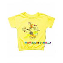 Футболка для девочки Райские птицы р-р 92-116 Smil 110332