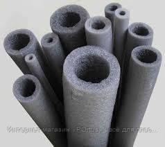 Термоизоляция для труб (Мерелон) d35х6мм (100м)