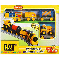 Железная дорога CAT PRE SCHOOL Toy State 80408