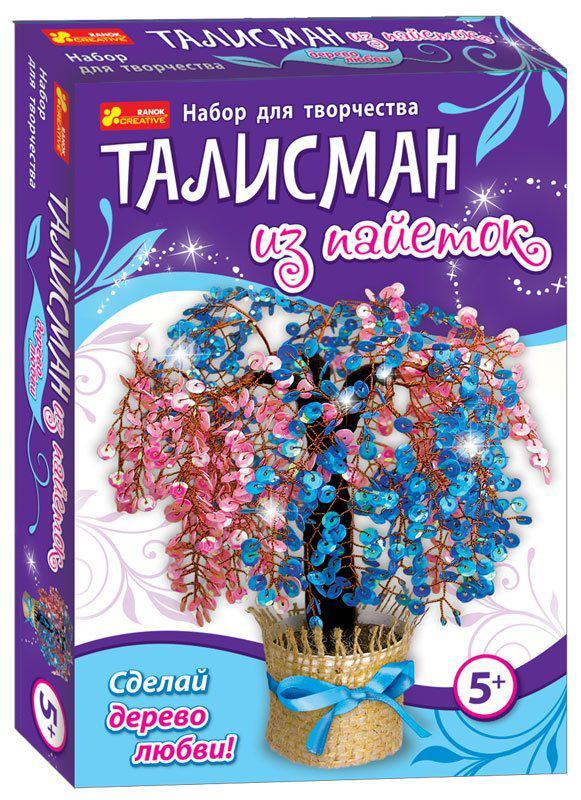 Набор для творчества Талисман из пайеток Дерево любви Creative 15100054Р
