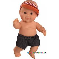Младенец мальчик Альдо в шортах и кепке Paola Reina 01245