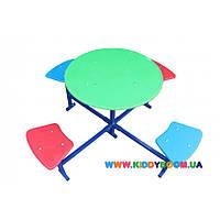 Столик для детской площадки четырехместный Dali 301/ст
