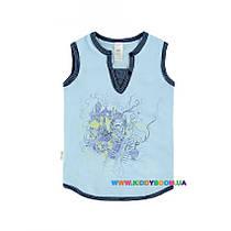 Майка для мальчика р-р 104-140 Smil 110379