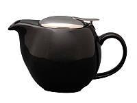 Чайник заварочный с метал. крышкой (черн.) 500 мл