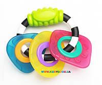 Погремушка-прорезыватель Геометрические формы Playgro 0182952