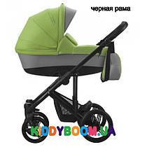 Коляска универсальная зеленая черная рама Bebetto MАGNUM 193