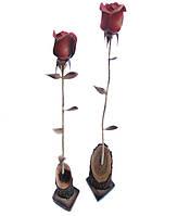 """Цветок """"Роза"""" сувенир резной"""