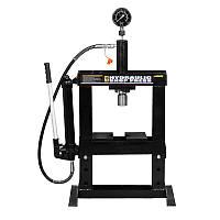 Пресс гидравлический с манометром Sigma 10т (6206011)