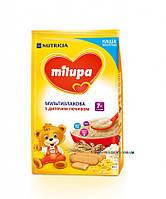 Каша молочная Milupa мультизлаковая с детским печеньем (с 7 мес) 210 гр.
