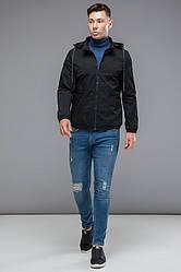 Куртка мужская демисезонная со съемным капюшоном + (3 цвета)