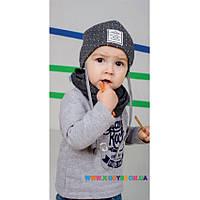 Набор шапка+хомут для мальчика Dembo house Амансио 108b7a8d4c3d4