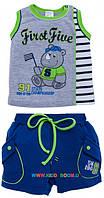 Комплект для мальчика Носорожек победитель р-р 68-80 Garden baby 42124-03
