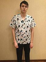Хирургический мужской медицинский костюм, фото 1