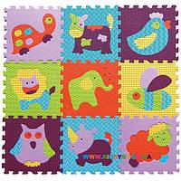 Игровой коврик-пазл «Веселый зоопарк» BabyGreat GB-M129А2