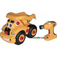 Игрушка - конструктор с шуруповертом Toy State Самосвал Гарри, 24 см 80466