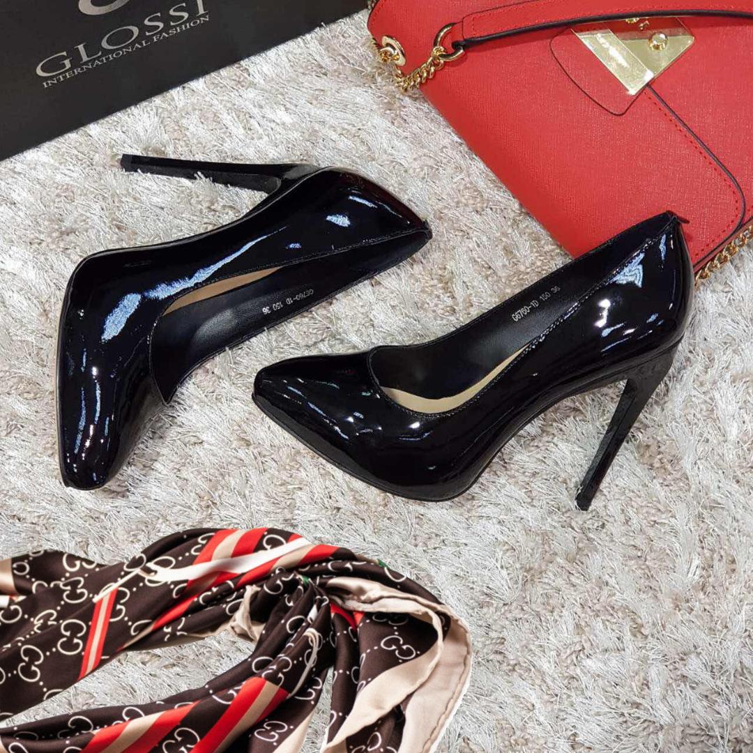 Туфли женские на каблуке натуральная кожа  продажа, цена в Запорожье ... 3c9c7f59f4b