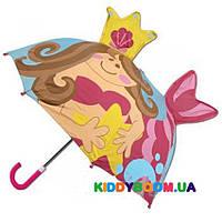 Зонт детский 3D Русалка Stephen Joseph