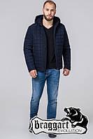 Куртка теплая демисезонная Braggart  темно-синий-2