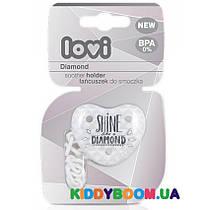 Держатель для пустышки LOVI Diamond 10/882