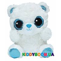 Мягкая игрушка Yoo Hoo Полярный медведь с сияющими глазами Аврора 170069B
