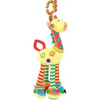 Игрушка-подвеска с погремушкой Жирафик Baby Team 8531
