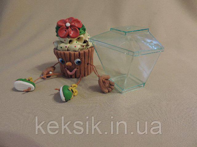 Стакан десертный с крышкой